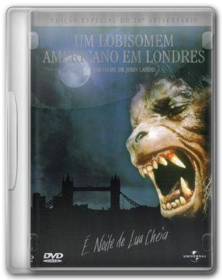 Capa do Filme Um Lobisomem Americano em Londres