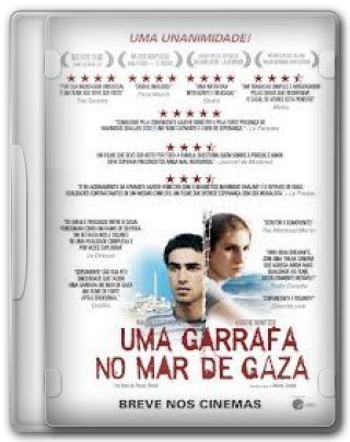 Capa do Filme Uma Garrafa no Mar de Gaza