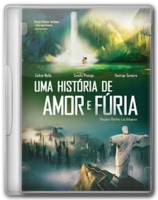 Capa do Filme Uma História de Amor e Fúria
