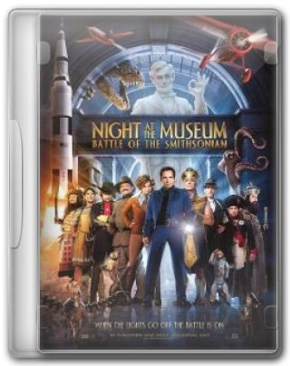 Capa do Filme Night at the Museum 2 Battle of the Smithsonian