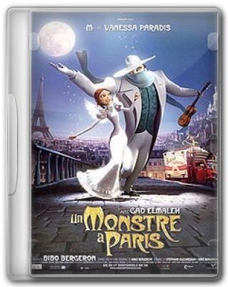 Capa do Filme Um Monstro em Paris