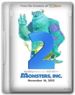 Capa do Filme Universidade dos Monstros Monstros S A 2
