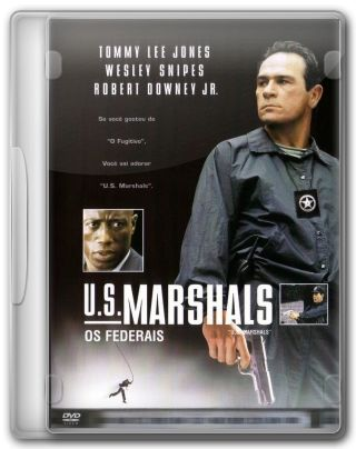 Capa do Filme U S Marshals Os Federais