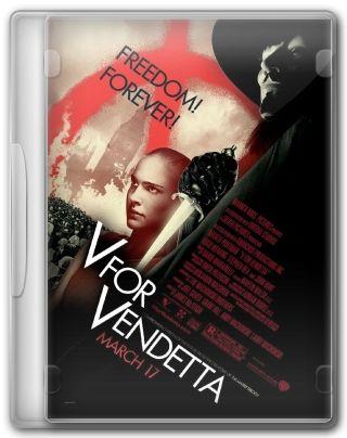 Capa do Filme V de Vingança