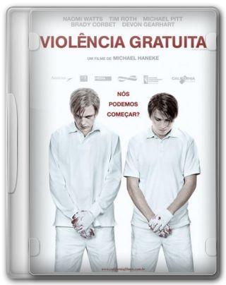 Capa do Filme Violência Gratuita