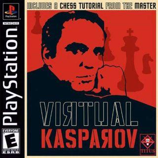 Capa Jogo Virtual Kasparov PS1