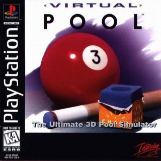 Capa Jogo Virtual Pool PS1