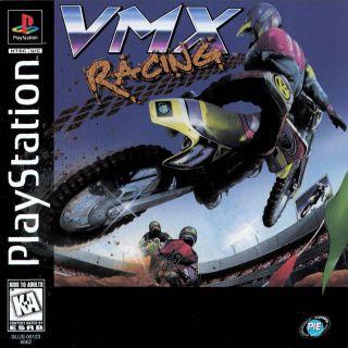 Capa Jogo VMX Racing PS1