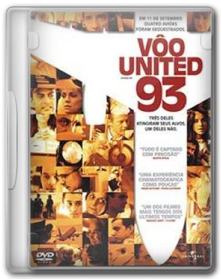 Capa do Filme Vôo United 93