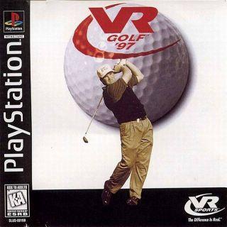 Capa Jogo VR Golf 97 PS1