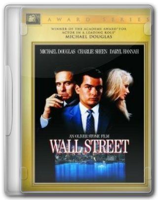 Capa do Filme Wall Street Poder e Cobiça