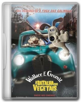 Capa do Filme Wallace & Gromit A Batalha dos Vegetais