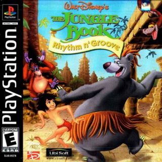 Capa Jogo Walt Disneys The Jungle Book Rhythm n Groove PS1