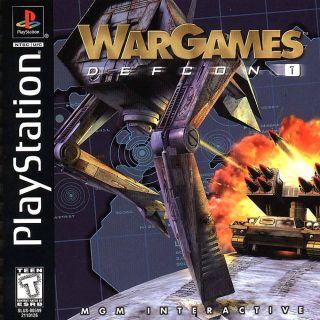 Capa Jogo WarGames Defcon 1 PS1
