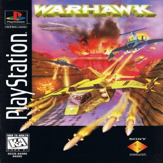 Capa Jogo Warhawk The Red Mercury Missions PS1