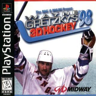Capa Jogo Wayne Gretzky's 3D Hockey '98 PS1