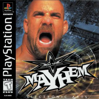 Capa Jogo WCW Mayhem PS1