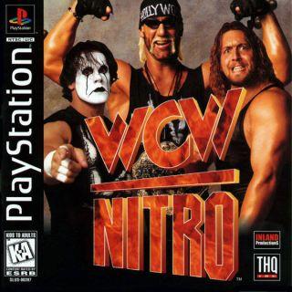 Capa Jogo WCW Nitro PS1