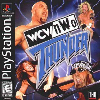 Capa Jogo WCW/nWo Thunder PS1