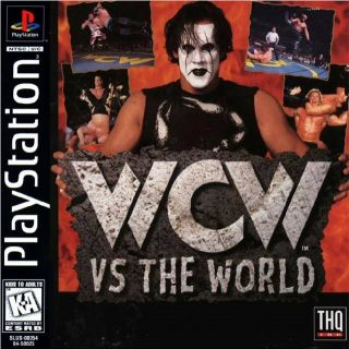 Capa Jogo WCW vs The World PS1