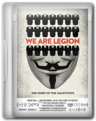 Capa do Filme We Are Legion: The Story of the Hacktivists