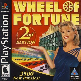 Capa Jogo Wheel of Fortune 2nd Edition PS1