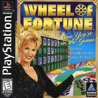 Capa Jogo Wheel of Fortune PS1