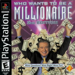 Capa Jogo Who Wants to Be a Millionaire 2nd Edition PS1