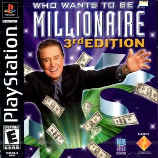 Capa Jogo Who Wants to Be a Millionaire 3rd Edition PS1