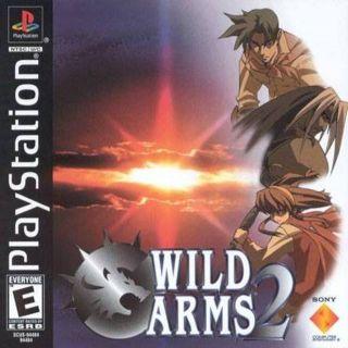 Capa Jogo Wild ARMs 2 PS1