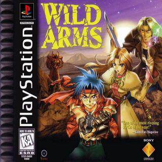 Capa Jogo Wild Arms PS1