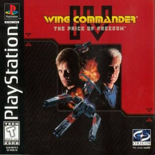 Capa Jogo Wing Commander 4 The Price of Freedom PS1