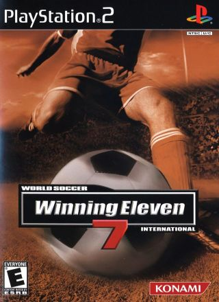 Capa Jogo Winning Eleven 7 World Soccer International PS2