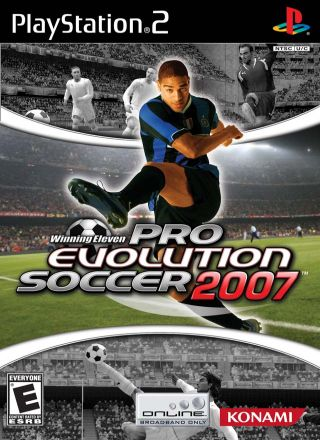Capa Jogo Winning Eleven Pro Evolution Soccer 2007 PS2