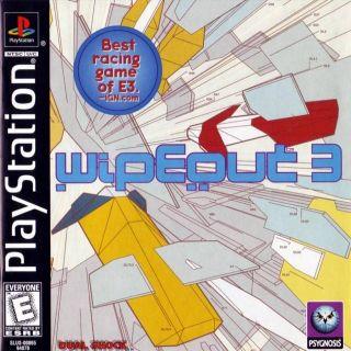 Capa Jogo Wipeout 3 PS1