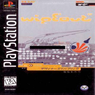Capa Jogo Wipeout PS1