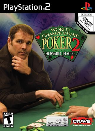 Capa Jogo World Championship Poker 2 featuring Howard Lederer PS2
