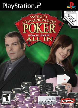 Capa Jogo World Championship Poker featuring Howard Lederer All-In PS2