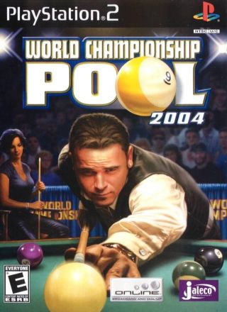 Capa Jogo World Championship Pool 2004 PS2