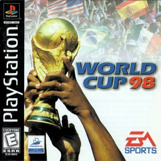 Capa Jogo World Cup 98 PS1