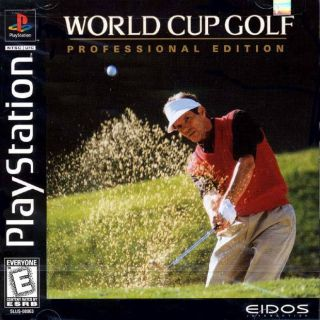 Capa Jogo World Cup Golf Professional Edition PS1