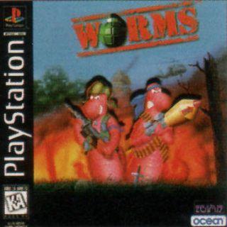 Capa Jogo Worms PS1