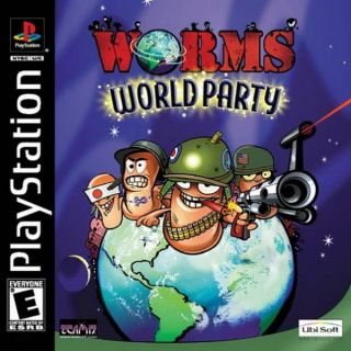 Capa Jogo Worms World Party PS1