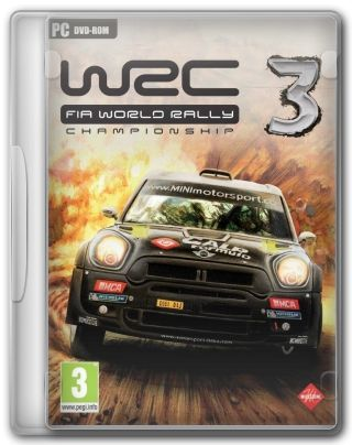 Capa Jogo WRC World Rally Championship 3 PC Requisitos