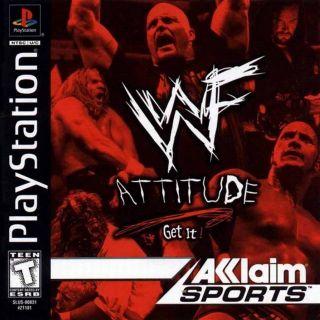 Capa Jogo WWF Attitude PS1