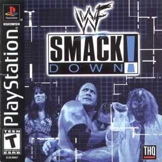 Capa Jogo WWF SmackDown PS1