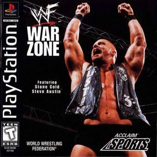 Capa Jogo WWF War Zone PS1