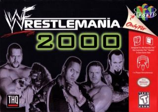 WWF WrestleMania 2000 USA