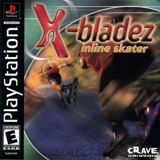 Capa Jogo X-Bladez Inline Skater PS1