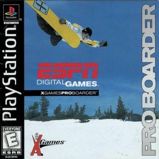Capa Jogo X-Games Pro Boarder PS1